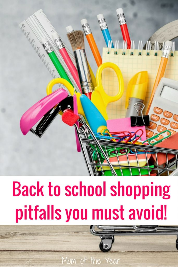 Back to school shopping? No sweat, right? Wrong! Check all these pitfalls where I went wrong--TOTALLY wrong. Read it, learn from my mistakes, and go ace it out yourself. And if all else fails, you'll LOVE my plan for winning the shopping trip for kids' school supplies next year!