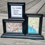 Have a long-distance friend you'd like to send a gift to, but not sure what to give? This DIY map craft care package gift is the perfect, sweet, personal touch that will mean so much! Check the 3 easy how-to steps, plus these fun ideas for getting kids involved. Bonus geography lesson included!