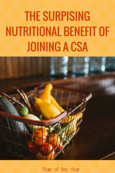 Want the freshest and best local veggies for your family. Check out these 3 reasons why joining a CSA is such a brilliant move for your family, along with the surprising nutritional benefits you might not think of. Read this for the whole scoop on the ins and outs of a CSA and how to join!