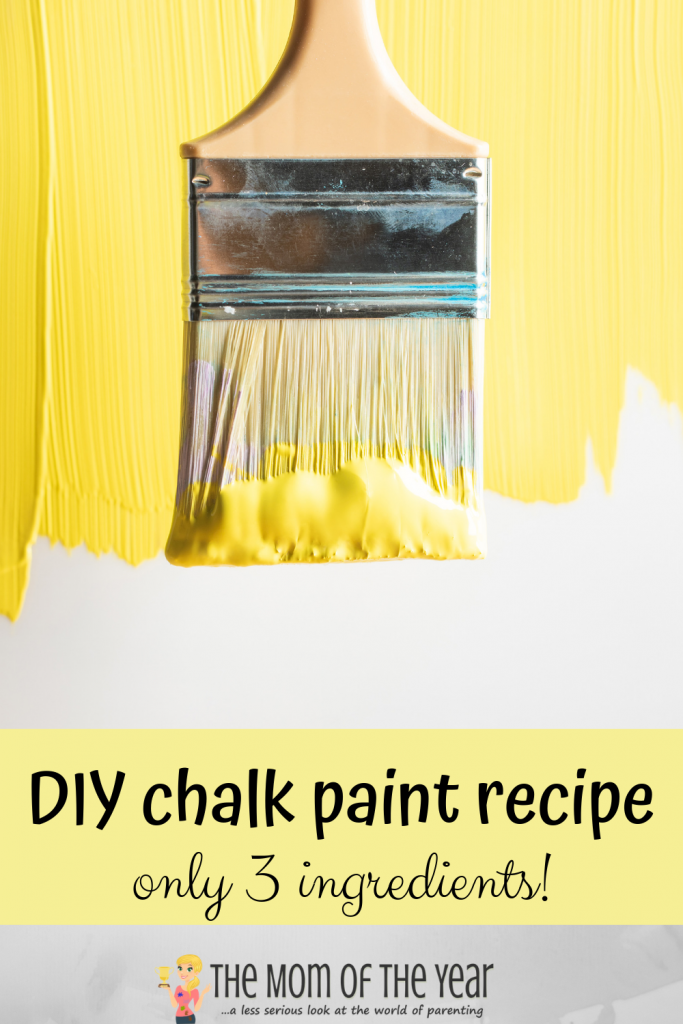 Have furniture you'd like to give a new look to, but don't have a ton of money? Check out this easy DIY method to make your own chalk paint--and use it!