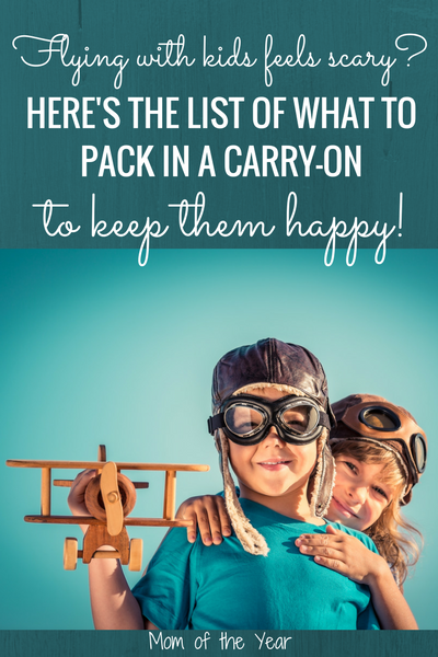 The idea of flying with kids leaves you cringing in fear? No worries! Use these six smart tips to master navigating airports and planes to make it a smooth process! I would never have thought of #4--genius! Kid-friend travel IS a real thing ;)