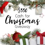 Need cash for Christmas? We get it! Funding all the holiday gift-giving and party hosting is serious business! And that's where we come in--enter this easy-peasy giveaway to score cash for the holiday shopping you need to do! We'll meet you on the other side--with your smiling budget ;)