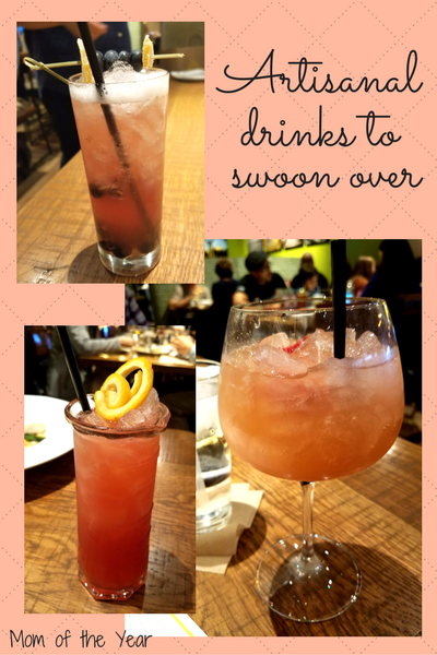 Taking time for a family date night is SO important, but finding the right family-friendly restaurant with menu that pleases everyone can be a challenge. So tickled that we found our go-to spot, and hey Mom and Dad--make sure you check out these cool artisanal beverages and craft drinks. You can thank me later!