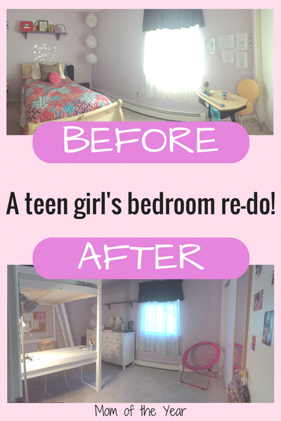 Bedroom mom teen