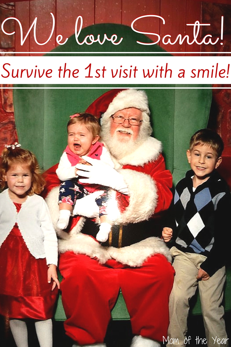 Trying hard this holiday season and flubbing it up a bit? That's the name of the game with parenthood--we keep giving it our all, and then pressing on, even when when we get it wrong. Screaming first visits to Santa included! Catch the parenting fun here!