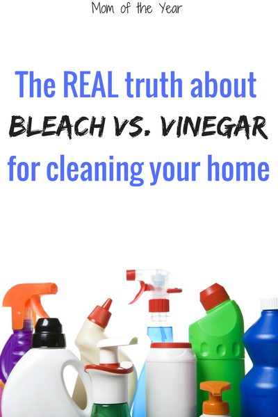 Time for Bleach 101 class! You may think you are properly cleaning your home, but you need these housecleaning tips STAT, trust me! I was shocked by the truth of these cleaning mythbusters--and super-grateful! Hello, healthy household!