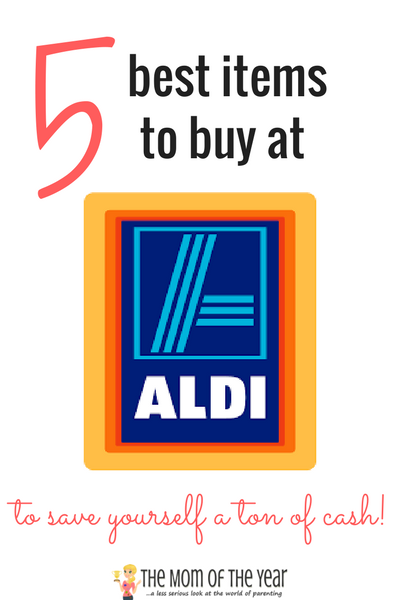 Is your grocery budget out of control? Grab the inside pro-bargain hunting scoop on how to slash grocery bills when shopping at Aldi with this list of the five best items to purchase at this grocery discount store. I would never have thought I'd find savings at Aldi with the third item!