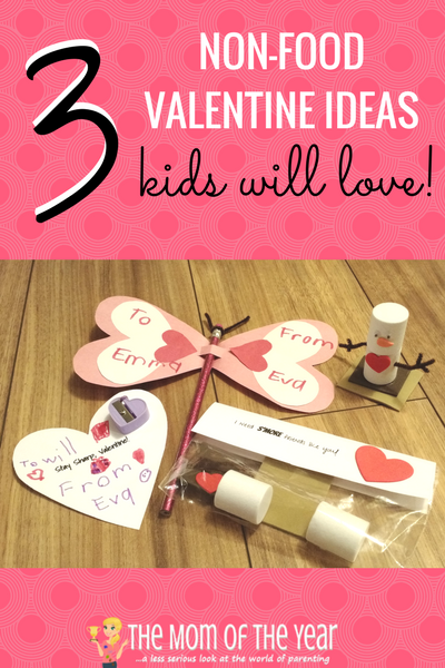 3 Fun DIY Non Food Valentines The Mom Of The Year