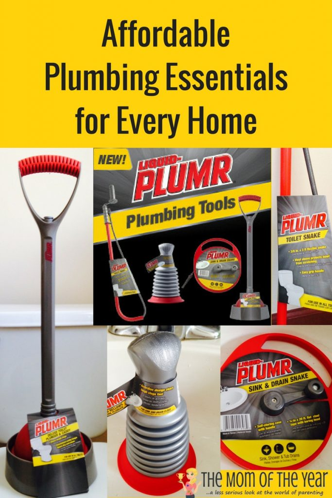 Tired of pricey calls to the plumber? No need to make them any more! Grab these four essential plumbing tools. With them on hand, your household will stay up and running and you'll save a ton of money! I never even know the third tool existed for home use!
