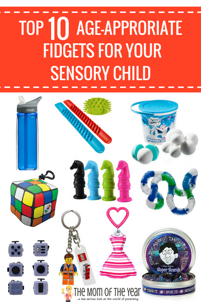 Have a kiddo with sensory issues, SPD or ASD? You aren't alone! It's rough, but grab onto one (or several!) of these sensory fidgets to make your road a bit easier! These things REALLY work!