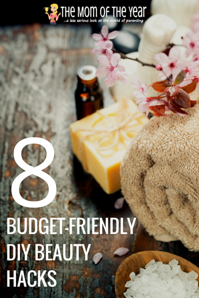 Tight on money and time, but still need some pampering, mama? No worries! These budget-friendly DIY beauty hacks bring the spa to YOU for pennies! Go on, mama--get your spa day on and feel fancy! I LOVE the shower idea--would never have thought of this one!