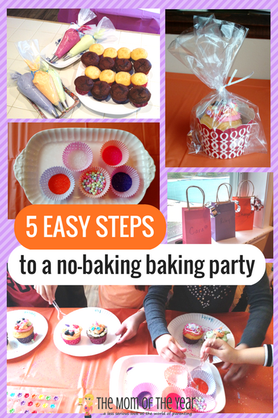 Looking for the perfect DIY kids' birthday idea? Try this no-baking baking party that's sure to be a win--and with these easy-to-follow how-to steps, way easier than you might think! I LOVE this chef craft idea!