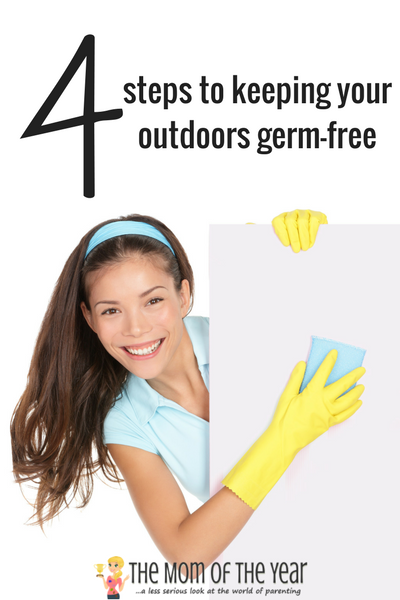 Keep your family healthy this summer by using these 4 cleaning tricks to keep outdoors germs at bay! And you will LOVE this cool trick for helping extend the life of fresh-cut flowers! Time to go enjoy all that gorgeous sunshiny fun!
