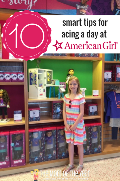 There is nothing like an American Girl visit to make some special memories and enjoy a fun day with your little one! It can seem overwhelming to plan your trip, but nab these 10 smart tips and you'll find yourself with an easy day to remember! #7 is especially genius!