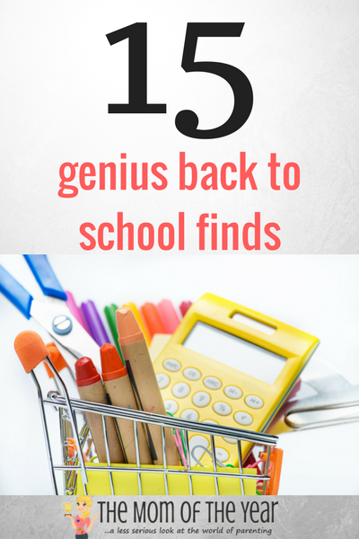 It's here! The scoop on the genius back to school finds you need to see your way through the crazy season while saving not only a ton of money, but sanity to boot as well! Get your smart shopping on! Especially love #7 and #11!