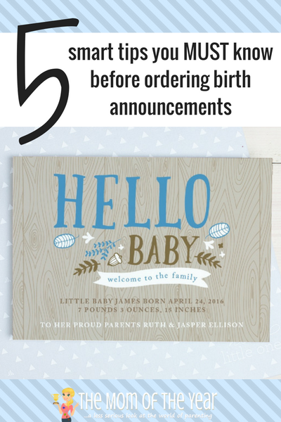Teensy overwhelmed with ordering birth announcements online? No sweat! Follow these 5 smart how-to tips and this professional recommendation for where to shop, and you are completely on your easy-breezy way! Hit order and take a breath!