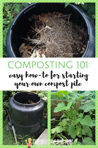 Always been interested in composting, but not sure where to start? We've got the easy how-to here! All your questions answered about how to start a compost pile. You garden will thank you with an abundance of healthy vegetables!