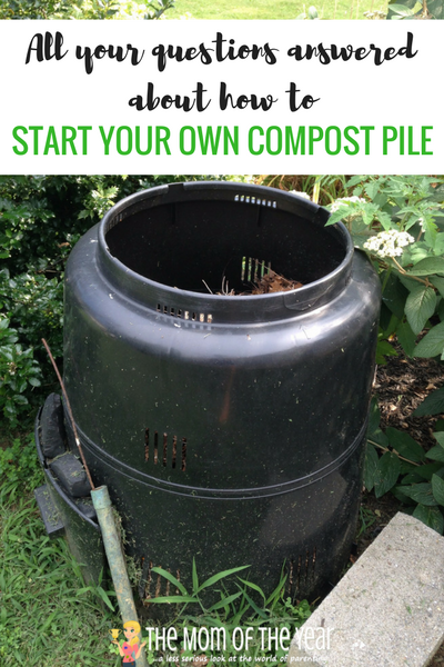 Always been interested in composting, but not sure where to start? We've got the easy how-to here! All your questions answered about how to start a compost pile. Your garden will thank you with an abundance of healthy vegetables!