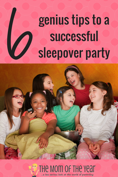 Filled with nerves over the thought of a sleepover party? No worries! With these 6 smart tips, it will be smooth sailing! My favorite? #6 is brilliant! No more worries, mama!