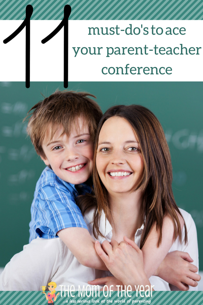 No fear, mama! Use these smart tips, tricks and questions to ace your own parent-teacher conference. I love the insight our on-board teacher offers in tips 7-9!