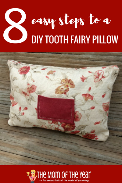 This DIY tooth fairy pillow is such a sweet, simple craft project to do for or with your kids! Easy to make and a special childhood keepsake memory, follow these simple steps and make yours now! Love the fun options to personalize!