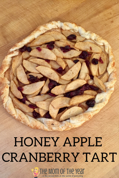 Need a perfect go-to fall dessert? This Honey Apple Cranberry Tart is the perfect recipe for the win! Check out this easy, family-friendly healthy recipe and get ready to wow!
