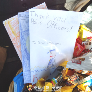 Locked My Keys In The Car >> Thank You Gift Basket for Police Officers - The Mom of the Year