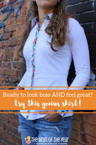 Tired of a restrictive fit and bist gaping? No more! This is the BEST dress shirt you'll ever find, ladies! I LOVE how comfy it is while maintaining superior quality! Get the scoop here, order, and never look back on this fashion find!