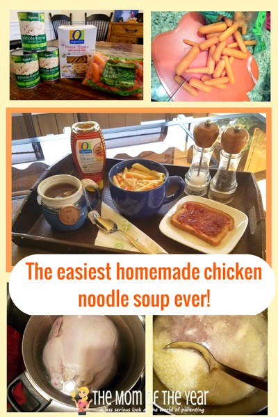 Cold and flu season is on its way, but no worries, mama! Try these 7 genius cold and cough season survival hacks and you will handle it like a pro! Bonus recipe for the EASIEST, best delicious, healthy, kid-friendly homemade chicken noodle soup EVER! Seriously, 5 steps and you're DONE!!