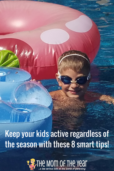 Working hard to keep your kids active and fit? Check these 8 smart ideas to keep your family fit, healthy and actively enjoying all that life holds, despite school breaks and life interruptions. I especially love tip #4!