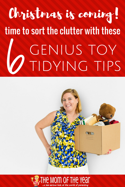 Have a boatload of lovely presents headed your way with the holidays? Get a jump on the clutter by tidying toys up weeks before Christmas gifting touches down. The bonus? You can teach your kiddos the value of giving to others while celebrating the holiday spirit! Enjoy!