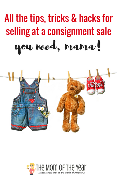 Tips, Tricks and Hacks for Selling at a Consignment Sale