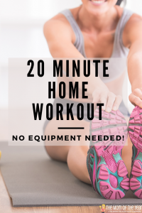 20 Minute Home Workout