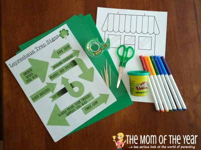 This St. Patrick's Day, it's time to get serious! Use this hand-dandy how-to guide to make your own REAL DIY leprechaun trap! This is the real deal! If you want to catch a wee green sprite, grab the kids, enjoy this family project and whip a trap that REALLY works! Get ready to enjoy the 3 wishes he will grant you!