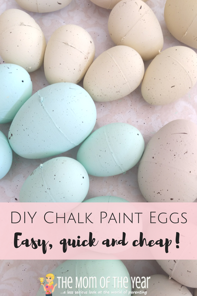 Have scads of Easter eggs on hand? Check out this awesome DIY Chalk Paint Eggs project as the prettiest way to upcyle plastic eggs ever! It's a super-easy, quick, and cheap Easter project for multiple uses--the wreath idea at the end is such a gorgeous way to make your front door shine! Go get the how-to scoop here!