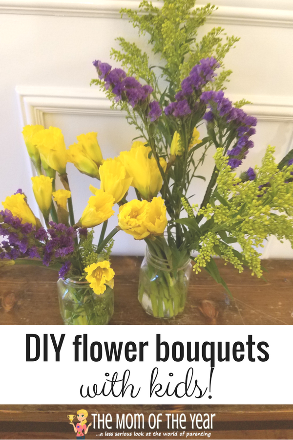 DIY Flower Bouquets are so trendy and SMART! You can save a ton of money and get your kiddos involved, easy-peasy! Check out this smart, money-saving how-to and get cracking on this genius DIY, mama!