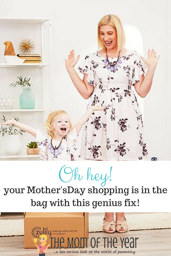 zulily's Mother's Day shopping options are genius and SO well organized! There is the perfect gift for every interest and budget--look no further, friends! Your Mother's Day shopping is in the bag!