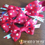 DIY Patriotic Hair Bows