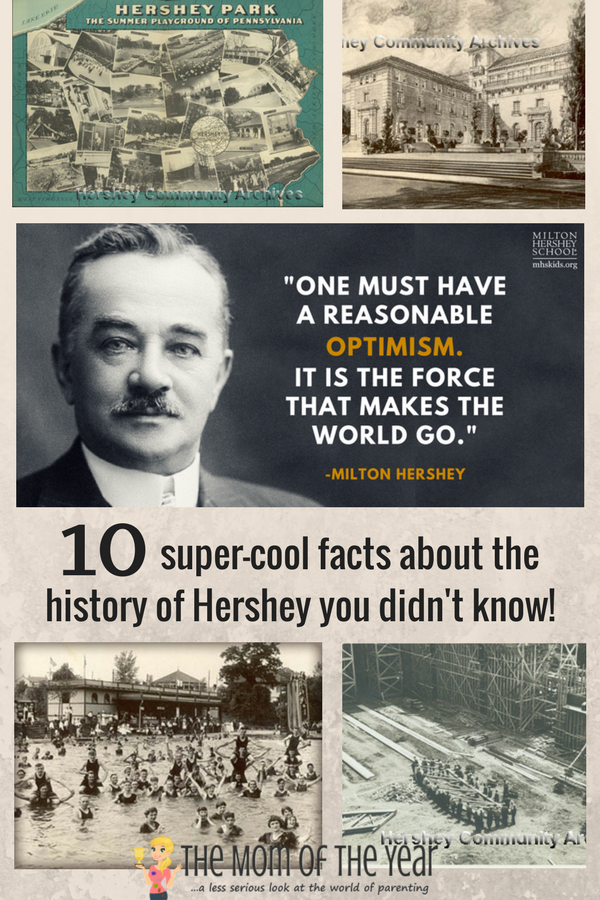 Hershey's history is a fascinating tribute to an incredible man and his legacy! The town, its schools, institutions and community are all credit to the mindful work of Milton Hershey, and I'm tickled to share these fun finds of my research--I'll bet you never knew even half of these cool truths before! Get ready to wow yourself and your kiddos!