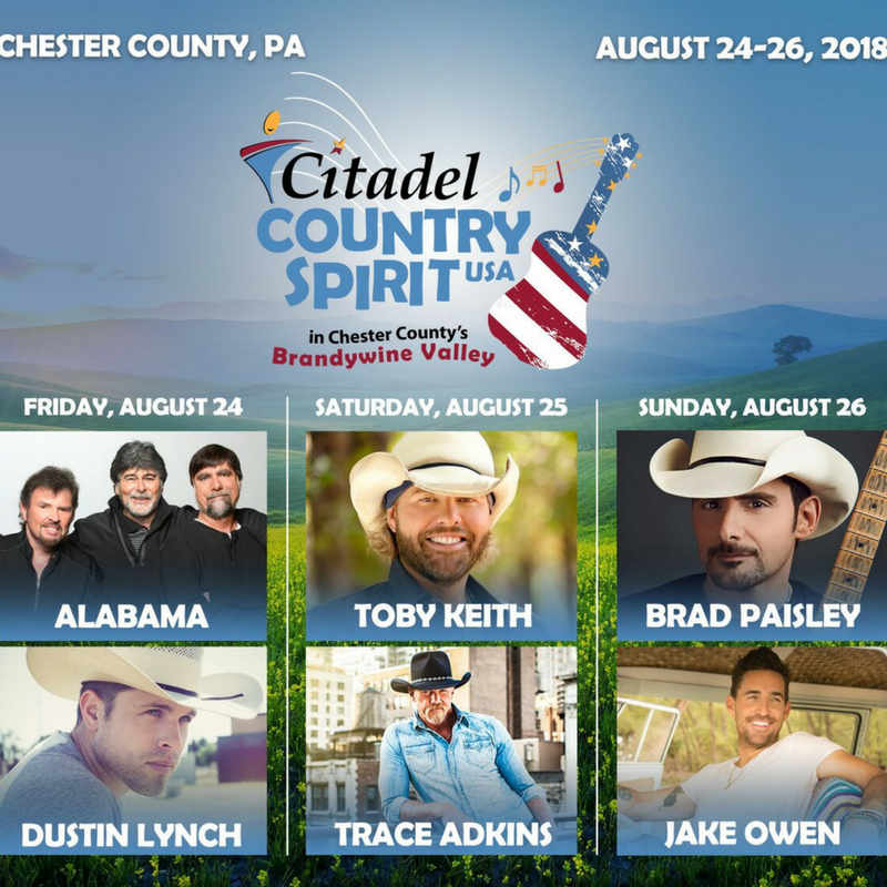 It's not often that a country music festival touches down in your backyard, but when it does, you join in the fun and celebrate! Get the whole scoop on the Citadel Country Spirit USA here!