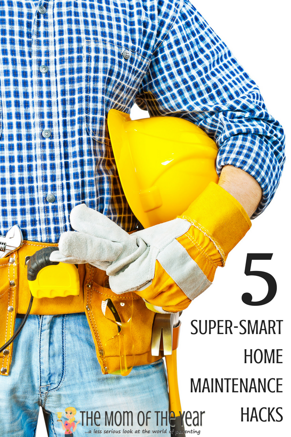 It's tricky to keep track of everything that needs to be done to keep your home running smoothly and safely! Grab these 5 super-smart home maintenance hacks and this handy-dandy FREE PRINTABLE to help you keep track and make light work of it! Tip #3 is my favorite!