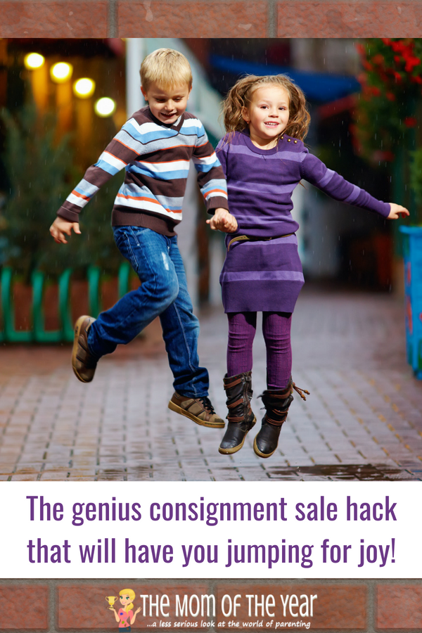 You need this, mama! The most genius consigment sale hack you'll ever find! Since I've started using this, I've never regretted a purchase I've made! Grab it and bring on all those deals and money-saving steals!