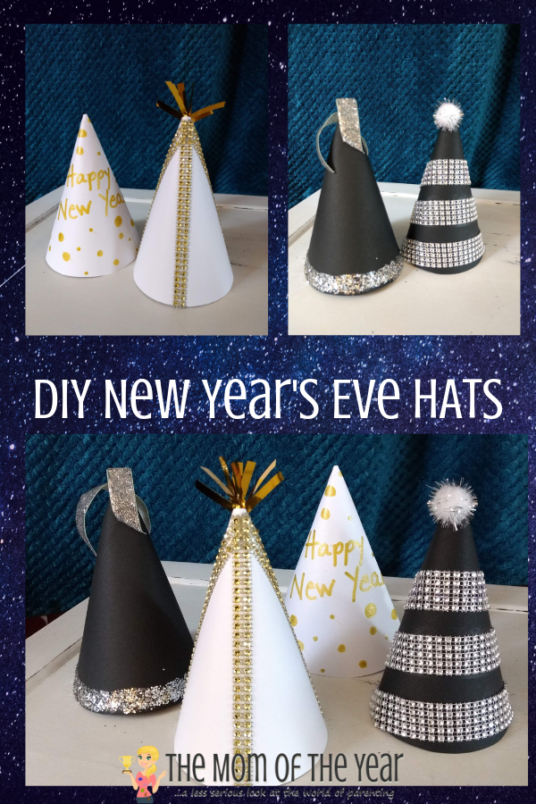 Want to ring in the new year in style? Check these fab DIY New Year's Eve Hats! I love the genius money-saving work-around!