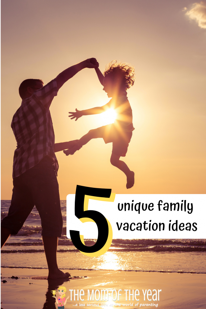 Planning a vacation with your family? No sweat! Check these 5 unique family-friendly vacation ideas, and your trip is in the bag! I love the smarts of the last idea--makes it so much easier!