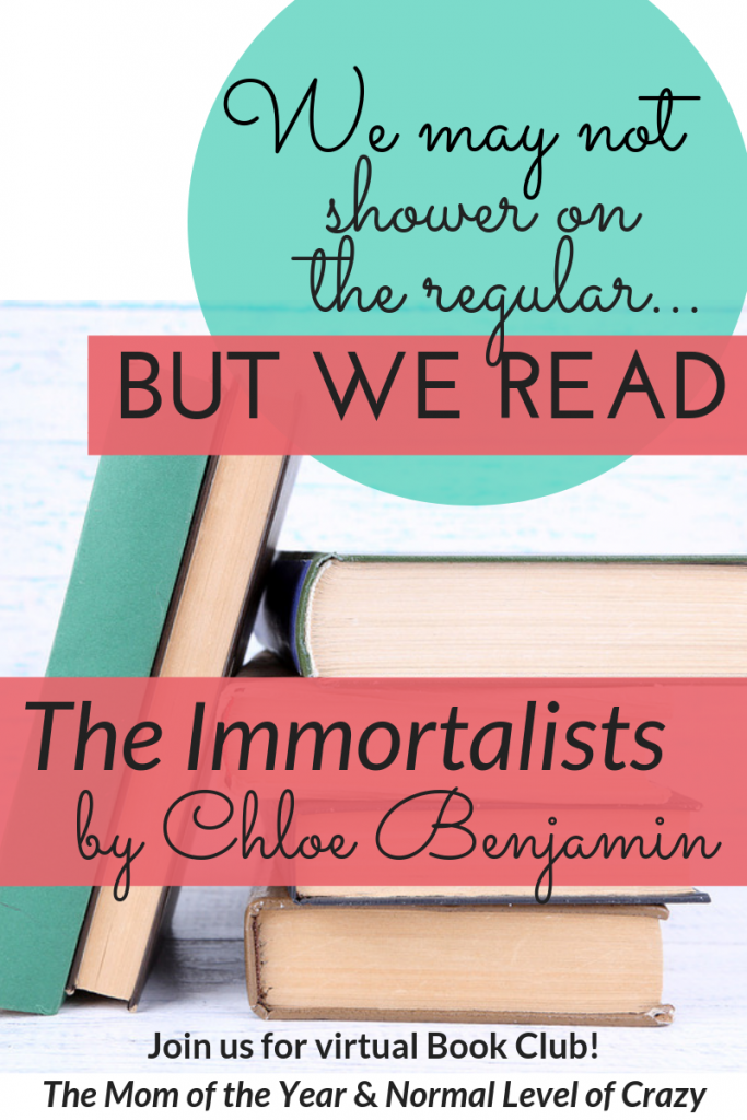 Looking for a good read? Our virtual book club is delighting in our latest book club pick! Join us for our The Immortalists book club discussion and chat the discussion questions with us! We're so glad you're here! Make sure to chime in for the chance to grab next month's pick for FREE!
