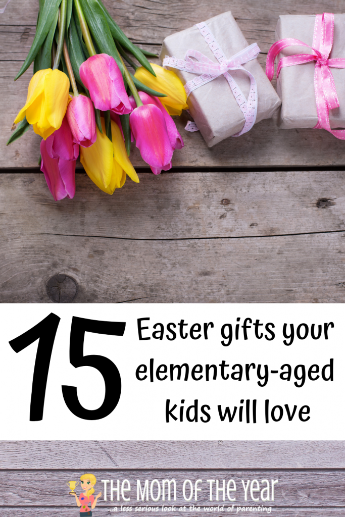 Searching for Easter gifts your elementary kids will love? Here's a list of tried and true finds topping kids' lists! Save yourself the stress of the search, and be an Easter star with these cool kids' gifts! I LOVE the very last one especially--my daughter will swoon over this!