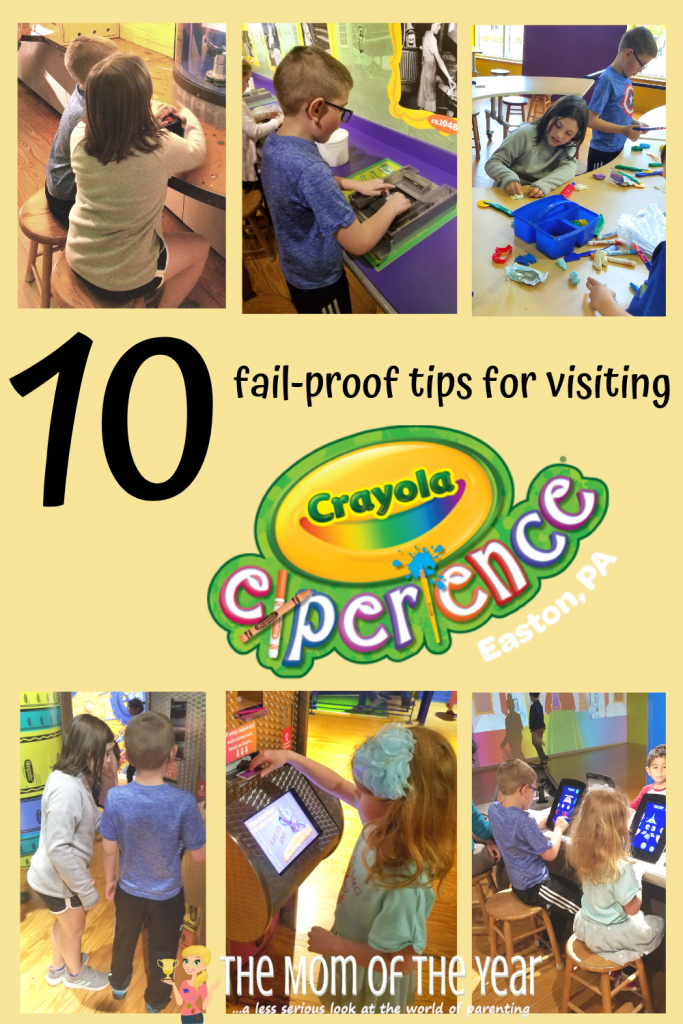 Planning on visiting the Crayola Experience? Here are 10 super-smart, must-know tips to make your visit a smooth success! Plus, the bonus genius tip at the end could make ALL the difference for your visit, mama--check it out!