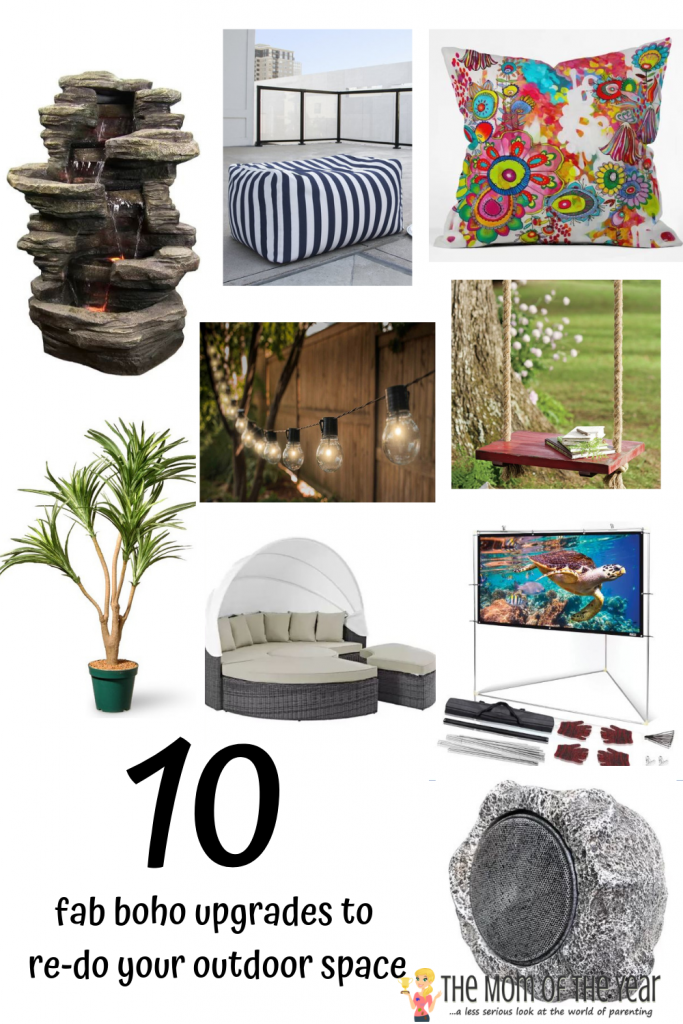 Love the boho vibe? Looking to upgrade your outdoor space? Check these 10 genius tips to upgrade with a boho outdoor style in no time! Number 7 blows me away!