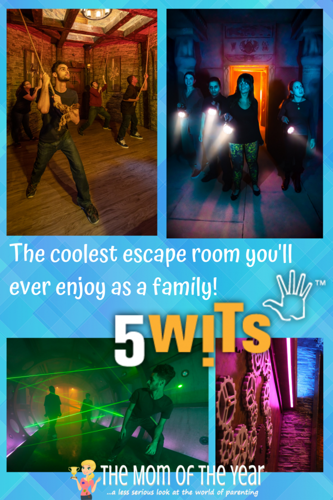 Our 5 Wits birthday party was the best birthday party we have ever had with our kids! Grab the full scoop on why this escape room hot spot makes for the best birthday party ever!