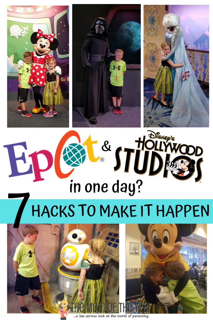 Visiting Epcot and Hollywood Studios in